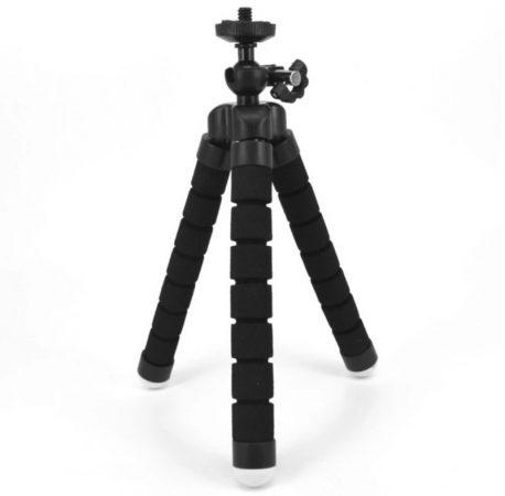 CQ-66 flexibilis mini fotóállvány