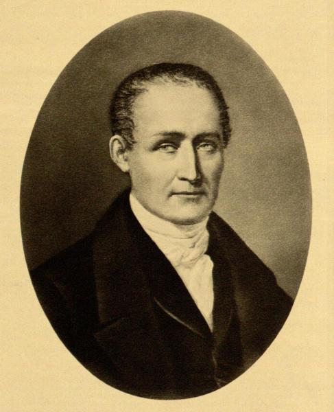 Joseph Nicéphore Niépce portré