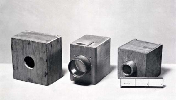 Talbot által használt kamerák 1835-1839 között